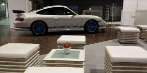 Veranstaltungsaufbau Porsche