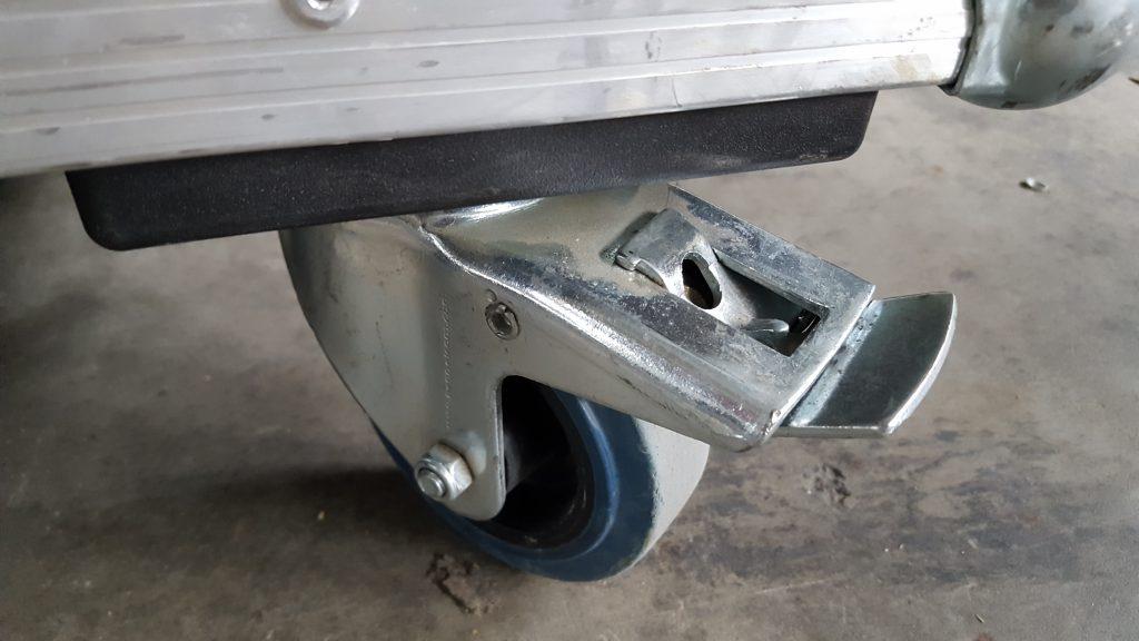 Blue Wheel Brake